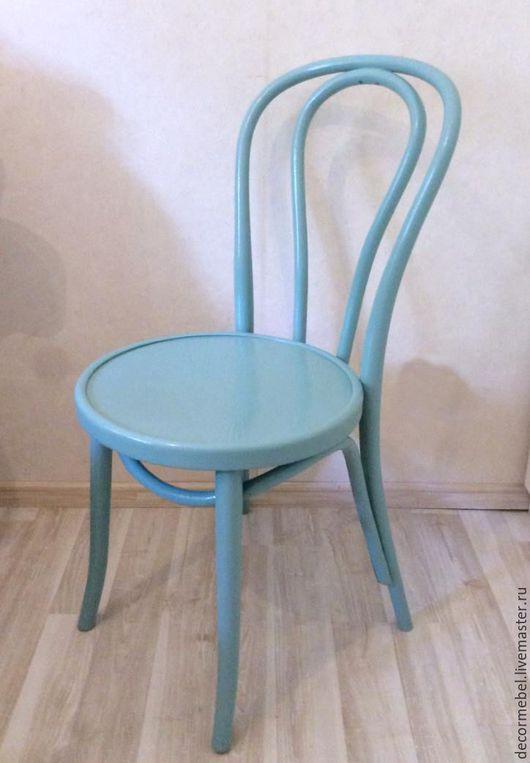 Мебель ручной работы. Ярмарка Мастеров - ручная работа. Купить Венский стул голубой. Handmade. Стул, Мебель, дизайн, комод