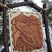 """Картины и панно ручной работы. Ярмарка Мастеров - ручная работа Панно """" Вольная птица"""". Handmade."""