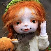 Куклы и игрушки ручной работы. Ярмарка Мастеров - ручная работа Аришка отправляется на поиски весны. Handmade.