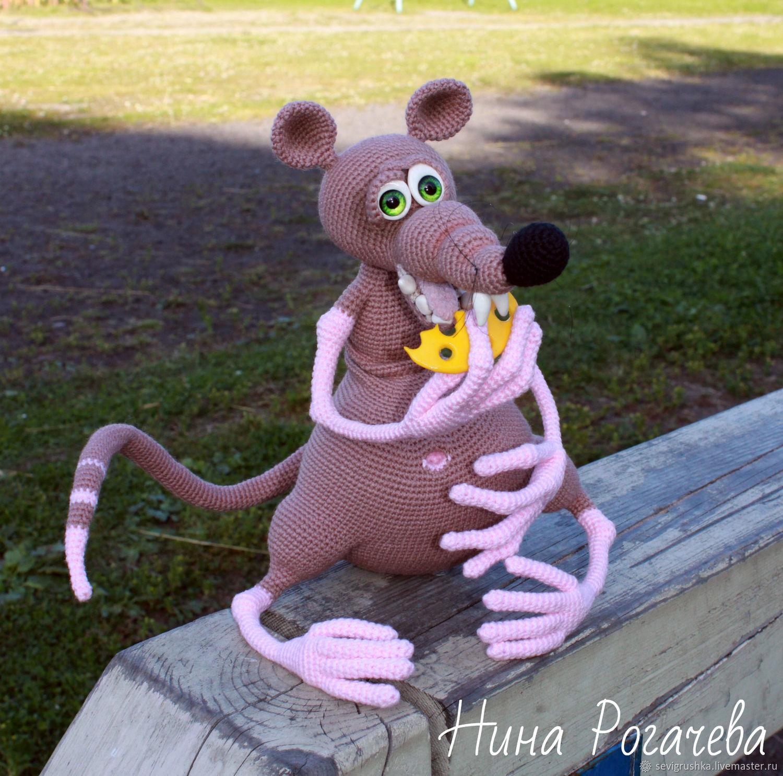 Year Of The Rat 2020: Rat Eater. Rat - a symbol 2020, Christmas gifts, Kandalaksha,  Фото №1