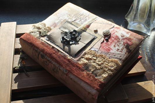 """Блокноты ручной работы. Ярмарка Мастеров - ручная работа. Купить Блокнот ручной работы """"Воспоминания на память.."""". Handmade. Разноцветный"""