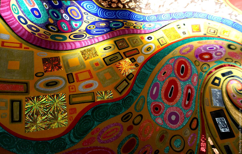 12348297 Paintings Panels Painting Klimt Kiss Gustav Klimt The Gold Or on 10 Diy Musical Instruments For Kids