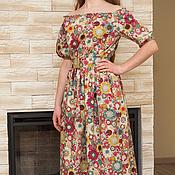"""Одежда ручной работы. Ярмарка Мастеров - ручная работа Летнее платье """" Подсолнухи"""". Handmade."""
