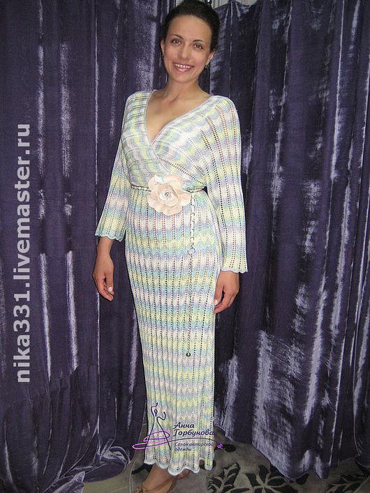 """Платья ручной работы. Ярмарка Мастеров - ручная работа. Купить Платье """"Миссони"""". Handmade. Платье вязаное"""