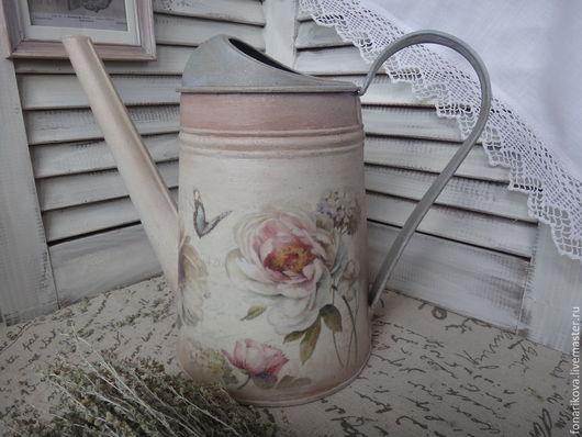"""Лейки ручной работы. Ярмарка Мастеров - ручная работа. Купить Лейка для полива цветов  """" Les jardins de provence"""". Handmade."""