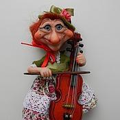 Куклы и игрушки ручной работы. Ярмарка Мастеров - ручная работа В джазе только девушки.. Handmade.