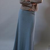 Одежда ручной работы. Ярмарка Мастеров - ручная работа Юбка Зимняя Деним. Handmade.