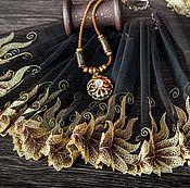 Материалы для творчества ручной работы. Ярмарка Мастеров - ручная работа Кружево 440 вышивка на сетке, кружево с вышивкой. Handmade.