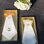 Винтаж handmade. Livemaster - original item Handkerchiefs, 2 PCs., Switzerland. Handmade.