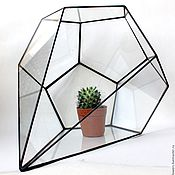 Цветы и флористика handmade. Livemaster - original item The Floriana for plants Drop . geometric vase for floriana. Handmade.