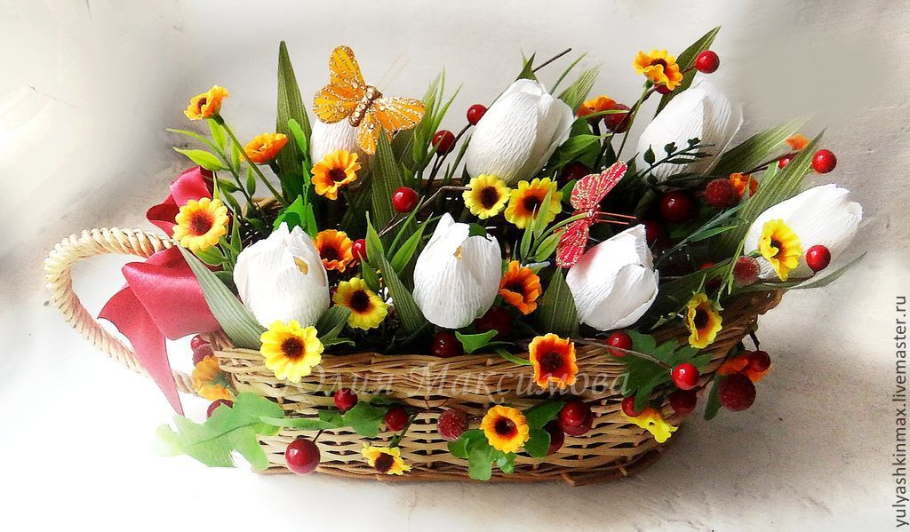Букет из конфет осенне-весенние мотивы, Букеты, Москва, Фото №1