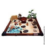 Подарки к праздникам ручной работы. Ярмарка Мастеров - ручная работа Японский садик Минуты блаженства. Handmade.