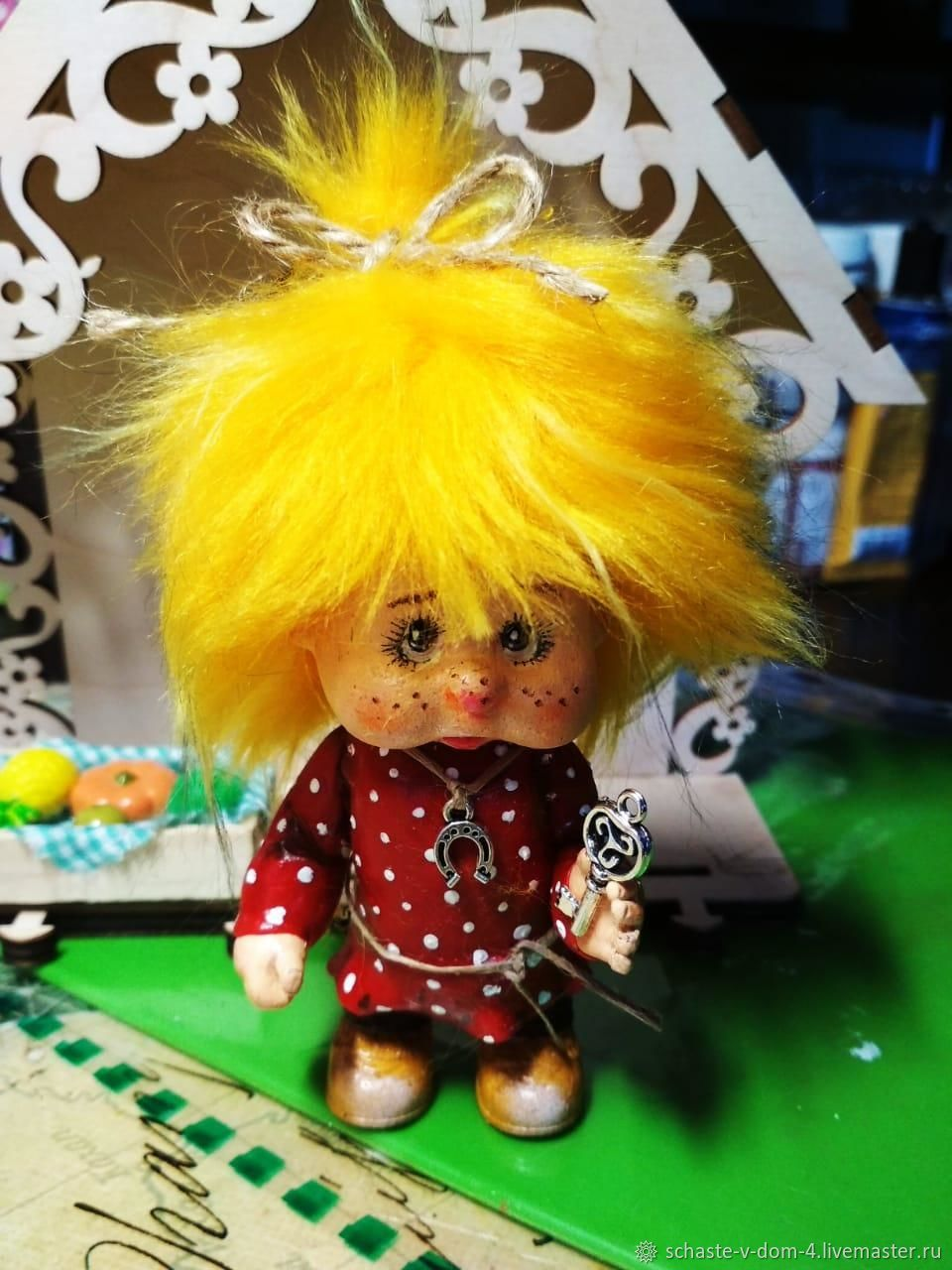 Домовенок Лучик, Народная кукла, Белгород,  Фото №1