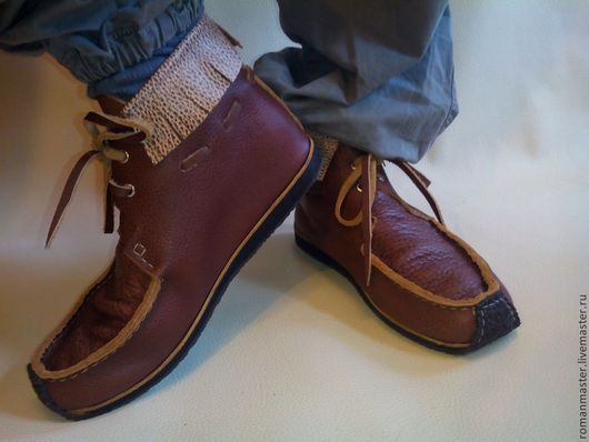 Обувь ручной работы. Ярмарка Мастеров - ручная работа. Купить МОКАСИНЫ 1.. Handmade. Мокасины, ботинки мужские, летняя обувь