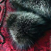 Аксессуары ручной работы. Ярмарка Мастеров - ручная работа Горжетка из лисы «Black night». Handmade.