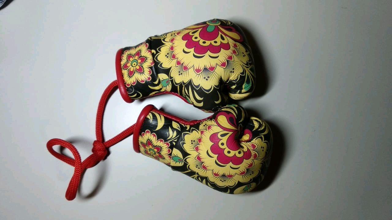 Boxing gloves, souvenir, Souvenirs, Volgograd,  Фото №1