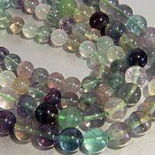 Beads1 handmade. Livemaster - original item Fluorite jewelry, beads 8 mm.. Handmade.