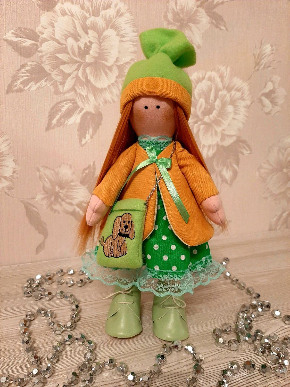 Интерьерная кукла, Куклы Тильда, Москва,  Фото №1