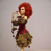 Куклы и игрушки ручной работы. Ярмарка Мастеров - ручная работа Калина красная. Handmade.