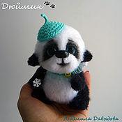 Куклы и игрушки ручной работы. Ярмарка Мастеров - ручная работа панда, мишка тедди, Ангел, вязаный мишка, мягкая игрушка в подарок. Handmade.