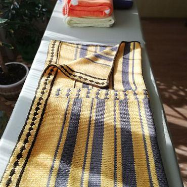 Текстиль ручной работы. Ярмарка Мастеров - ручная работа Пледы: плед детский вязаный. Handmade.