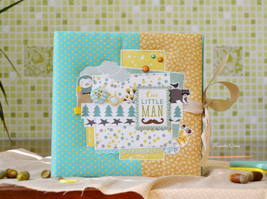 фотоальбом ручной работы,детский альбом,альбом для фото купить, купить подарок новорожденному, подарок малышу, мятный, аквамариновый, подарок на выписку, подарок на крестины, детский фотоальбом купить