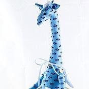 """Куклы и игрушки ручной работы. Ярмарка Мастеров - ручная работа Жираф """"Хранитель добрых снов"""" -  текстильная игрушка в стиле """"тильда. Handmade."""