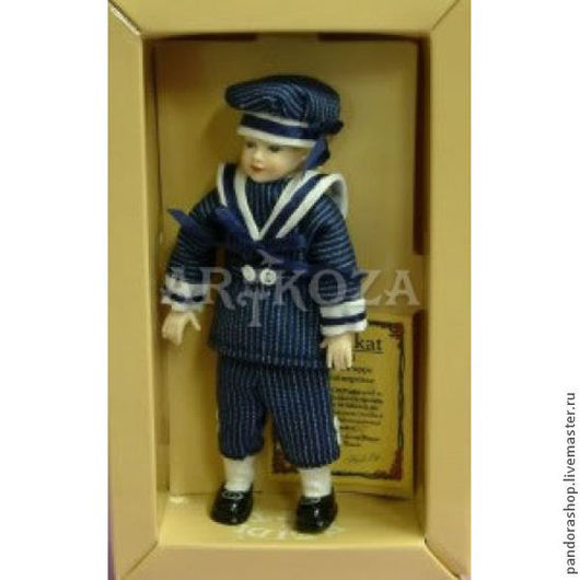"""Куклы и игрушки ручной работы. Ярмарка Мастеров - ручная работа. Купить Куклы коллекционные от Heidi Ott. Мальчик """"Юнга"""". Handmade."""