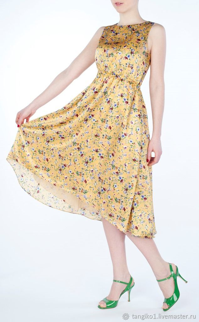 Шелковое платье Mimi pinson, Платья, Москва,  Фото №1