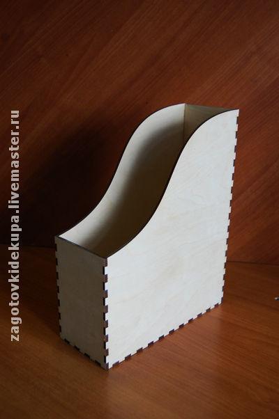 Газетница  (продается в разобранном виде) Размер: 31х25х10 см Материал: фанера 4 мм
