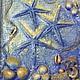 Символизм ручной работы. ВОСПОМИНАНИЯ О МОРЕ. Светлана. Интернет-магазин Ярмарка Мастеров. Море, креативный подарок, синий, ракушки