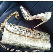 Обувь ручной работы handmade. Livemaster - original item Set shoes clutch. Handmade.
