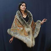 Аксессуары handmade. Livemaster - original item Pavlovoposadskaya shawl