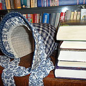 """Комплекты одежды ручной работы. Ярмарка Мастеров - ручная работа Шляпка-капор для девочки """"Сара"""" (ретро, винтаж). Handmade."""