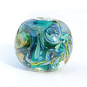 """Украшения ручной работы. Ярмарка Мастеров - ручная работа Кулон """"Подводный мир"""" лэмпворк. Handmade."""
