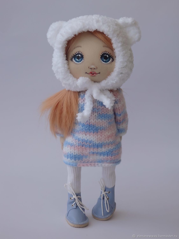 Кукла текстильная интерьерная Рыжик (2 комплекта одежды), Куклы и пупсы, Бат-Ям,  Фото №1