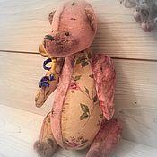 """Куклы и игрушки ручной работы. Ярмарка Мастеров - ручная работа """"Медведь- пыльная роза"""". Handmade."""
