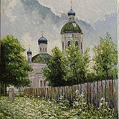 Картины и панно handmade. Livemaster - original item Pictures: Church. Handmade.