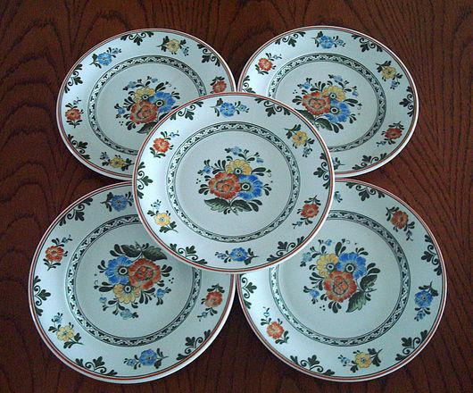 Винтажная посуда. Ярмарка Мастеров - ручная работа. Купить Тарелки Villeroy & Boch «Alt Amsterdam» 60-ые. Handmade.