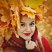 """Одежда ручной работы. Ярмарка Мастеров - ручная работа Лоскутное пальто """"Императрица осень"""". Handmade."""
