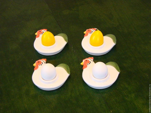 """Винтажная посуда. Ярмарка Мастеров - ручная работа. Купить Подставки для яиц """" Пасхальные курочки """". Handmade. Подставка для яиц"""