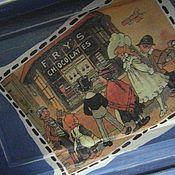 """Для дома и интерьера ручной работы. Ярмарка Мастеров - ручная работа Именной ларец для сладостей """"Саша"""". Handmade."""