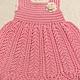 Одежда для девочек, ручной работы. Ярмарка Мастеров - ручная работа. Купить Платье Колоски. Handmade. Розовый, летнее платье для девочки