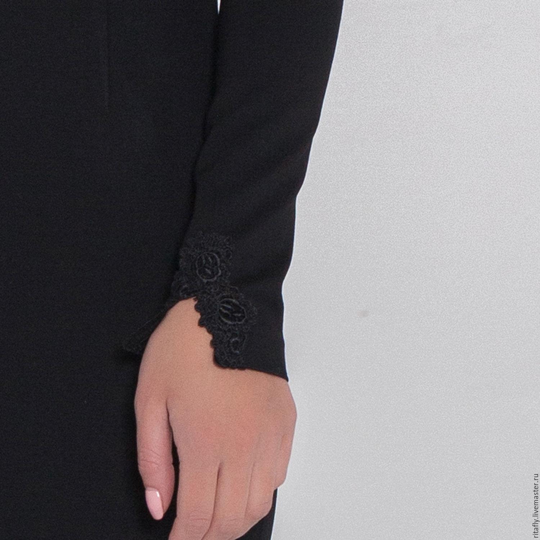 81543a11911 288  Коктейльное платье футляр с кружевной спиной – купить в ...