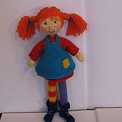 Куклы и игрушки ручной работы. Ярмарка Мастеров - ручная работа Пеппи Длинныйчулок. Handmade.