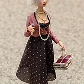 Куклы и игрушки ручной работы. Ярмарка Мастеров - ручная работа Мадам)). Handmade.