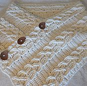Аксессуары handmade. Livemaster - original item Three in one: the scarf, Snood, poncho. Handmade.
