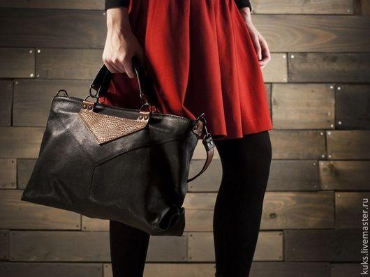 Женские сумки ручной работы. Ярмарка Мастеров - ручная работа. Купить Сумка женская. Handmade. Черный, на каждый день