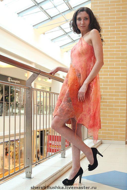 """Платья ручной работы. Ярмарка Мастеров - ручная работа. Купить Платье """"Дух Зари"""" LO SPIRITO DELL ALBA. Handmade."""