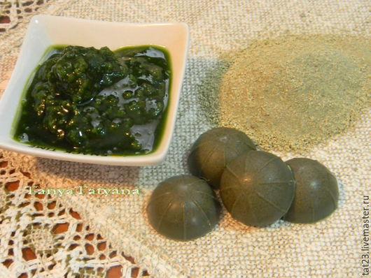 Гидрофильные плитки для умывания Лавр и зеленая глина (для жирной и комбинированной кожи)